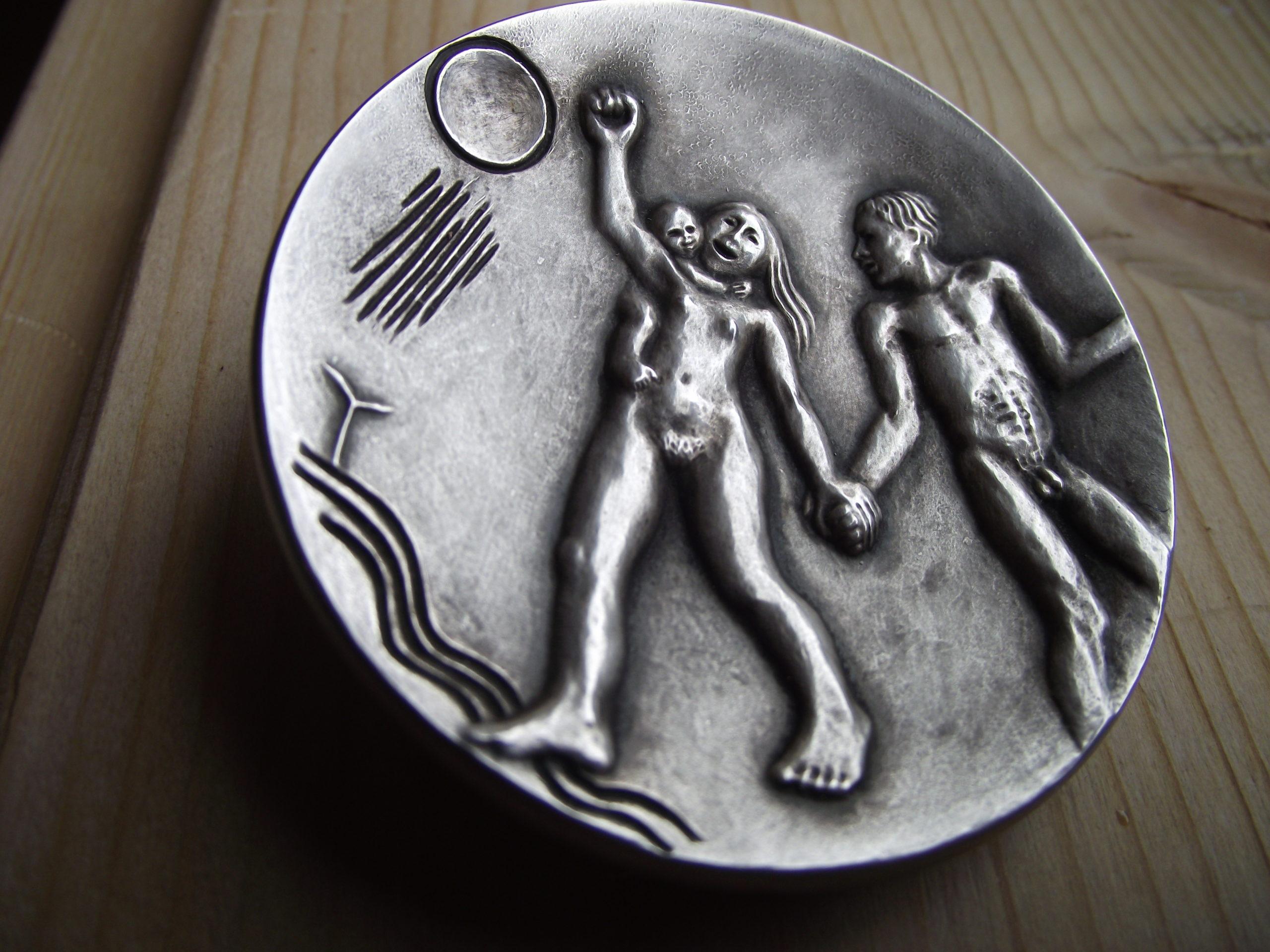 Bild på medalj 1975